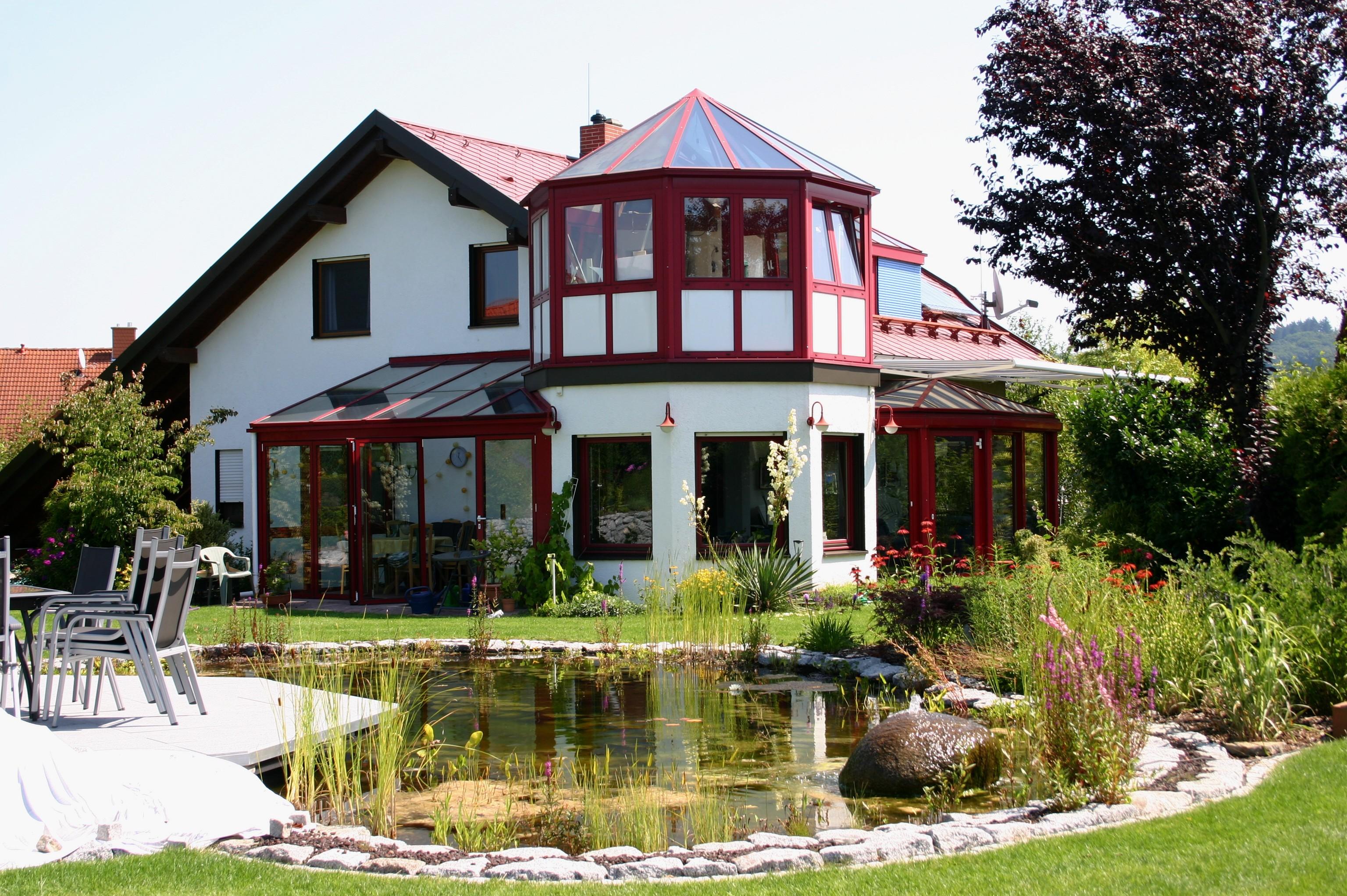 Gartenteiche an terrasse  Professioneller Teichbau
