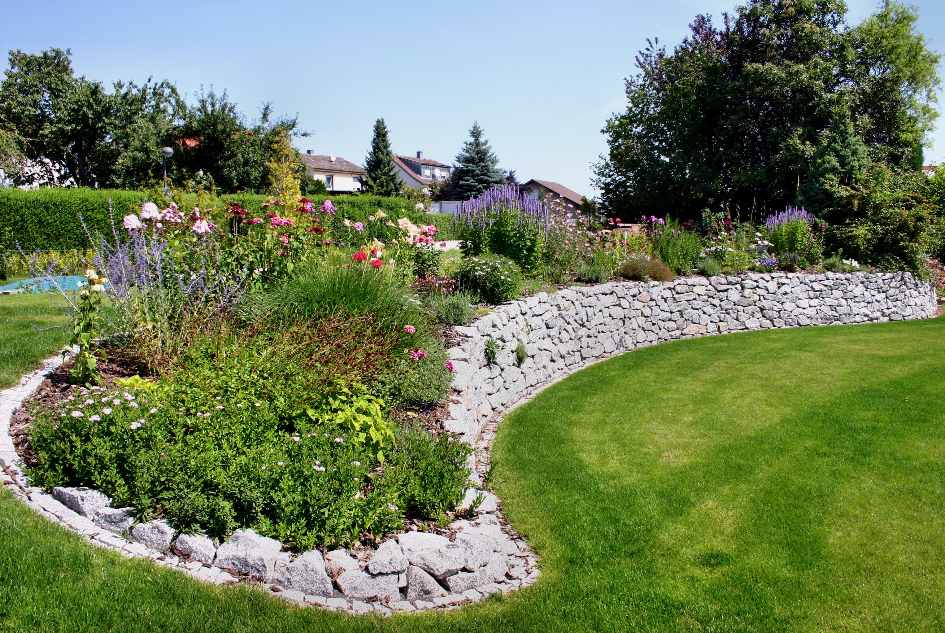 Gartengestaltung Mit Naturstein Mauern – vivaverde.co