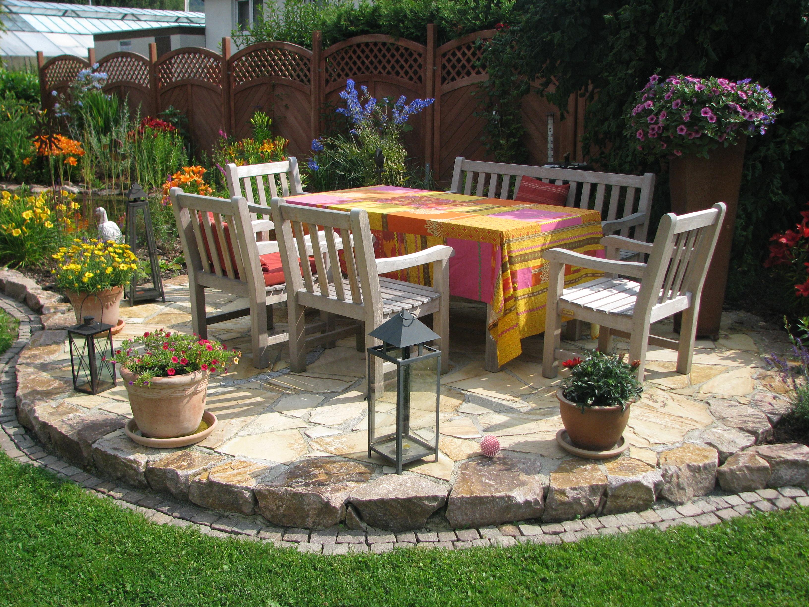 Gartengestaltung ideen terrasse for Gartengestaltung terrasse ideen