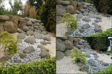 Großer Steingarten - Gartengestaltung Frank Klemt