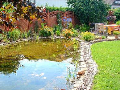 Gartenteich - Gartengestaltung Frank Klemt