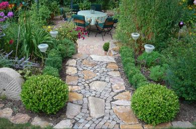 Gartenweg - Gartengestaltung Frank Klemt