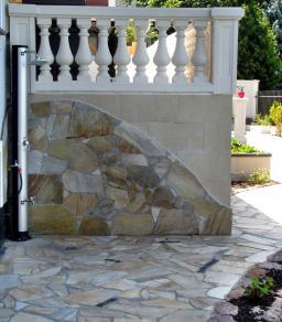 Polygonalplattenarbeiten - Gartengestaltung Frank Klemt